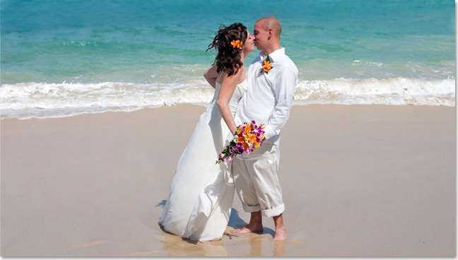Beach wedding at turks caicos resorts osprey beach hotel destination weddings at osprey beach hotel junglespirit Choice Image